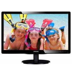 "Philips V-line 200V4LAB2 - Monitor LED - 20"" ( 19.5"" visível ) - 1600 x 900 - 200 cd/m2 - 600:1 - 5 ms - DVI-D, VGA - altifalant"