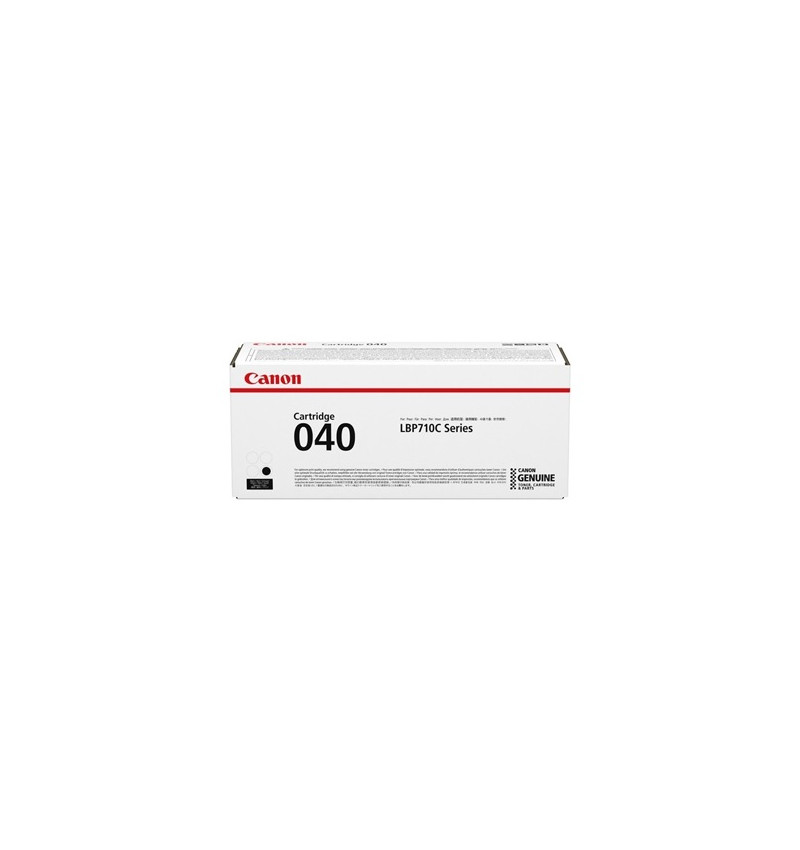 040 BK - Cartridge para: LBP712Cx, LBP710Cx