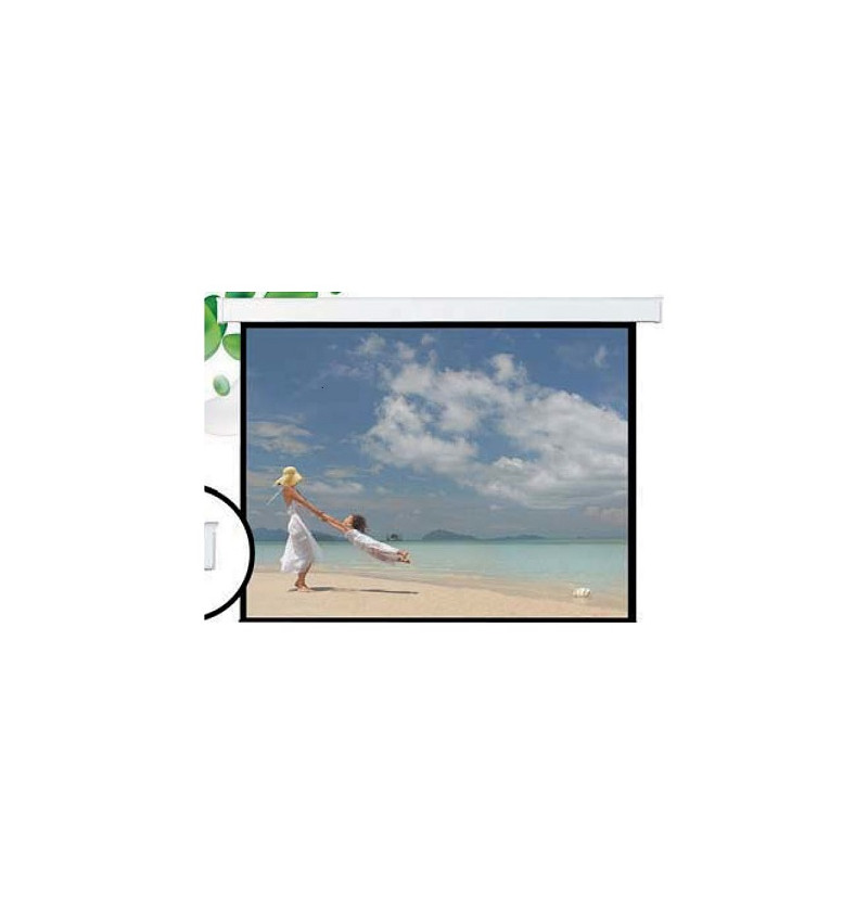 "Tela de suspensăo Elétrica 135"", dimensăo tela: 3080 x 2000 (Comando Via Rádio incluido)"