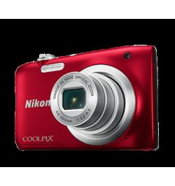 Maquina Fotográfica Coolpix A100 Red + Estojo + Selfie stick - 999A100R1