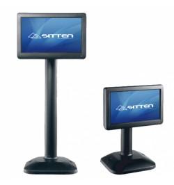 "Sitten ST-7058 - Monitor 7"" TFT-LCD. Resoluçăo: 800x400. Com stand ajustável. Vesa mount"