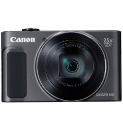 """Canon PowerShot SX620 HS Preta - CMOS de 20.2 Megapixels, Zoom ótico de 25x, NFC, LCD 7,5 cm (3"""")"""