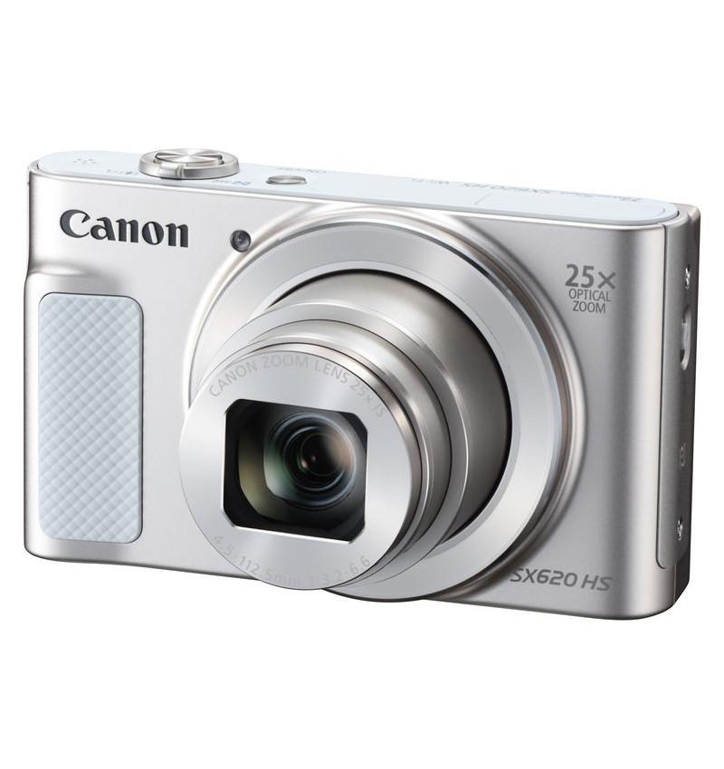 """Canon PowerShot SX620 HS Branca - CMOS de 20.2 Megapixels, Zoom ótico de 25x, NFC, LCD 7,5 cm (3"""")"""