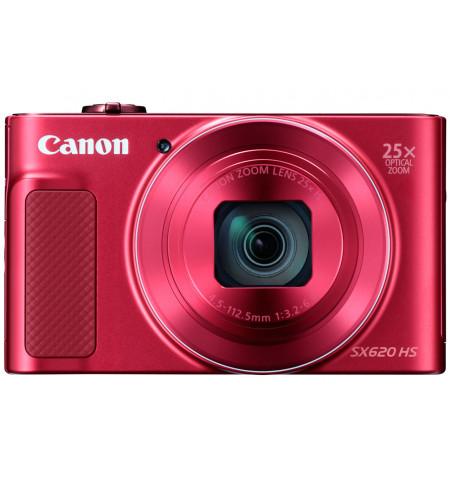 Maquina Fotografica Canon PowerShot SX620 HS Vermelha 20.2Mpx - 1073C002AA