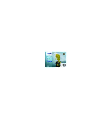 Tinteiro Original Epson Stylus Photo R200/ 220/ R300/ R320/ R340/ RX500/ RX600/ RX640 (T048140+240+340+440+540+640) Multipack C