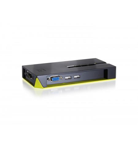Desktop Switch LevelOne 4 Portas USB (KVM-0422)