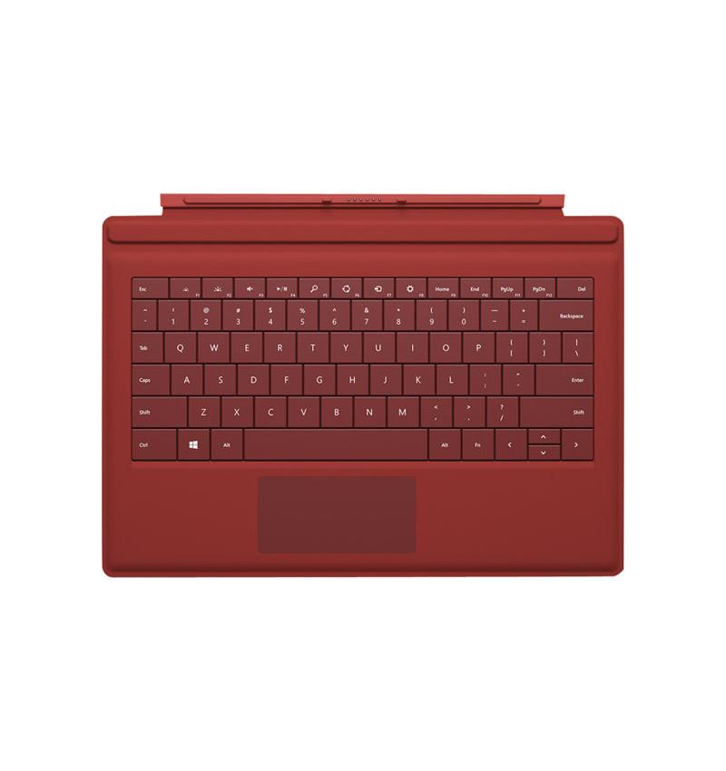 Teclado Microsoft Surface 3 Vermelho - GV7-00043