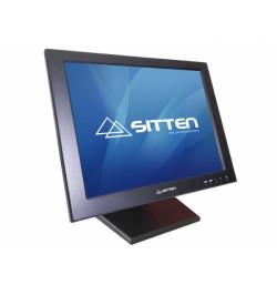 Sitten MT-1501 - Monitor TFT 15'' Touch, 5-Wire resistive Touchscreen. Totalmente dobrável na horizo