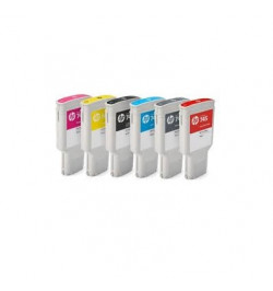Tinteiro Plotter Original HP 745 130-ml Chromatic Red Ink Cartridge - F9K00A