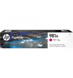 Tinteiro HP 981A Magenta Original PageWide Cartridge - J3M69A