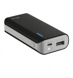 PowerBank TRUST Primo 4400 Portable Charger Black - 21224