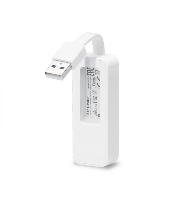Adaptador TP-Link USB 2.0 para Rede Ethernet 100bps - UE200