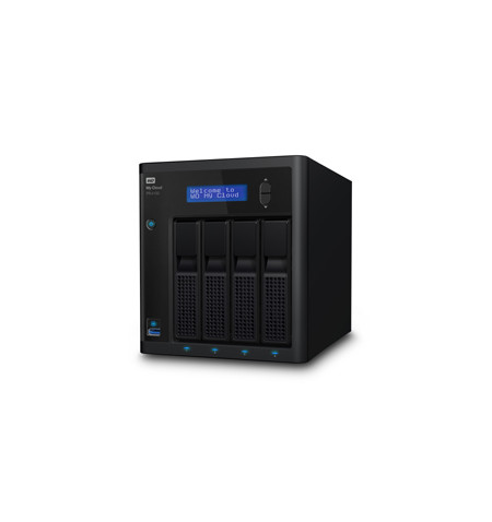 NAS WD My Cloud PRO PR4100 24TB - WDBNFA0240KBK-EESN