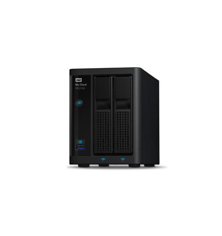 NAS WD My Cloud PRO PR2100 4 TB - WDBBCL0040JBK-EESN