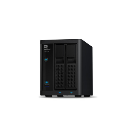 NAS WD My Cloud PRO PR2100 8TB - WDBBCL0080JBK-EESN