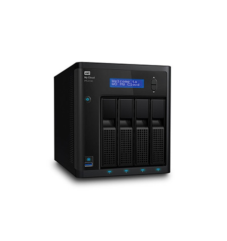 NAS WD My Cloud PRO PR4100 8 TB - WDBNFA0080KBK-EESN