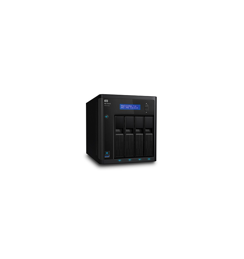 NAS USB 3.0 Gigabit Ethernet (x2) 0TB WD My Cloud PRO PR4100