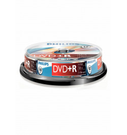 Philips DVD+R 4,7GB 16x Cakebox (10 unidades)