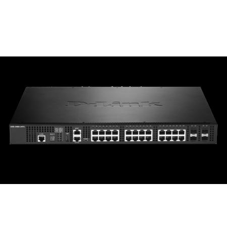 Switch D-Link 20 Portas 10GBASE-T/STP - DXS-3400-24TC