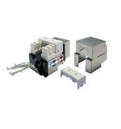 Conector STP RJ45 F Cat. 6 DUAL+