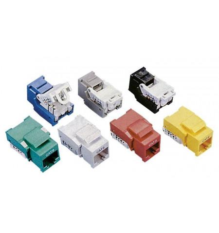 Conector UTP RJ45 F Cat. 6 clip