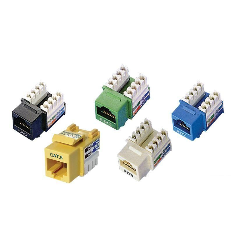 Conector UTP RJ45 F Cat. 6 DUAL+