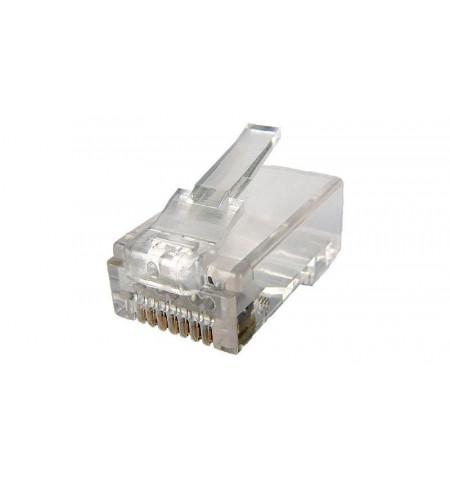 Conector RJ 45 Categoria 6 UTP 10 unidades