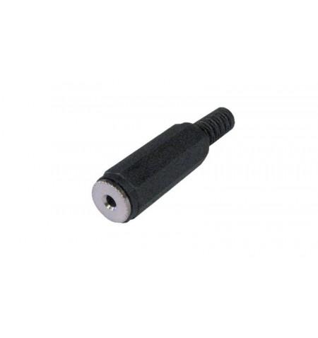 Conector Jack 2.5mm fêmea Stéreo