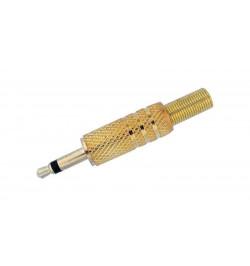 Conector Jack 3.5mm Gold com protecção