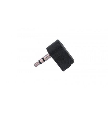 Conector angulado Jack 3.5mm Stéreo