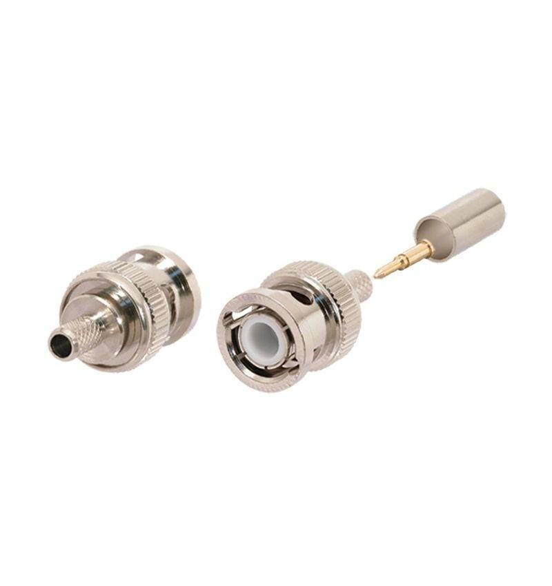 Conector PHASAK BNC Plug RG58 para cravar