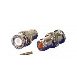 Conector PHASAK BNC Plug RG59/62 clamp