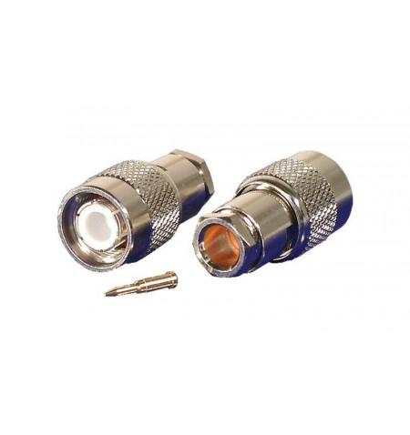 Conector PHASAK TNC Plug RG59/62 clamp