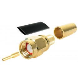 Conector RP–SMA Plug de cravar para H155