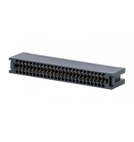 """Conector para cabo plano de ligação placa 100"""" 1.27 mm"""