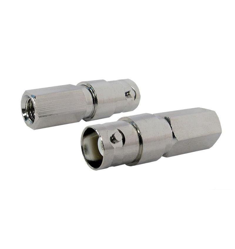 Conector fêmea BNC RC59 plug rápido