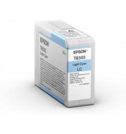 Tinteiro Original Epson T850500 SC-P800 Ciano (C13T850500(