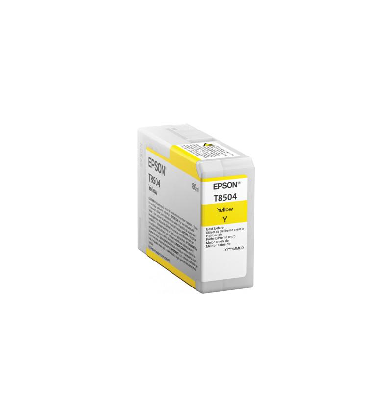 Tinteiro Original Epson T850400 SC-P800 Amarelo (C13T850400)