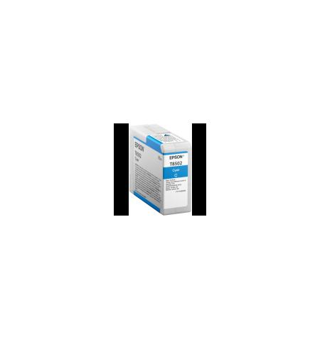 Tinteiro Original Epson T850200 80ml SC-P800 Ciano (C13T850200)