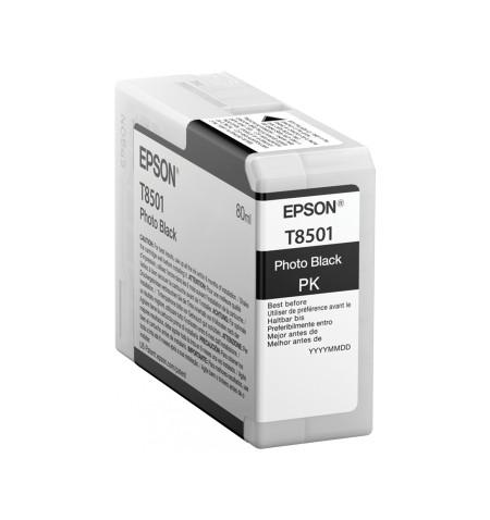 Tinteiro Original Epson T850100 80ml SC-P800   Preto (C13T850100)