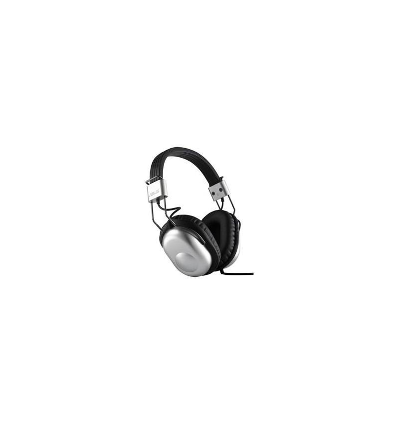 Asus HP-100U Headphones + Mic Silver