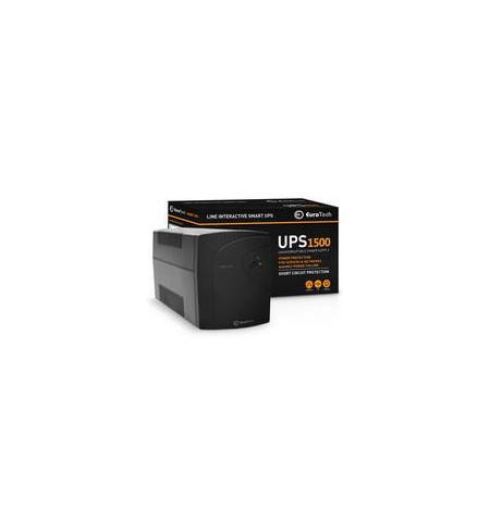 UPS Eurotech 1500VA / 900W 1USB 2RJ45 3SCHUKO - UPS1500EU