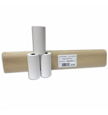 Papeltérmico Sitten 10rolos 80x40x11 - SUP1015