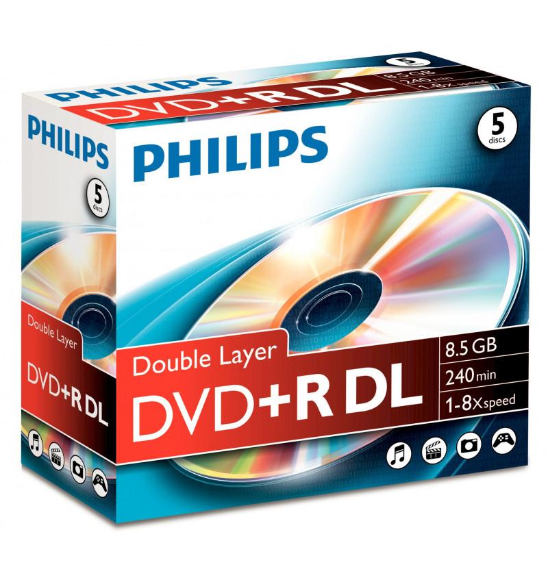 Philips DVD+R 8,5GB DL 8x JC (5)