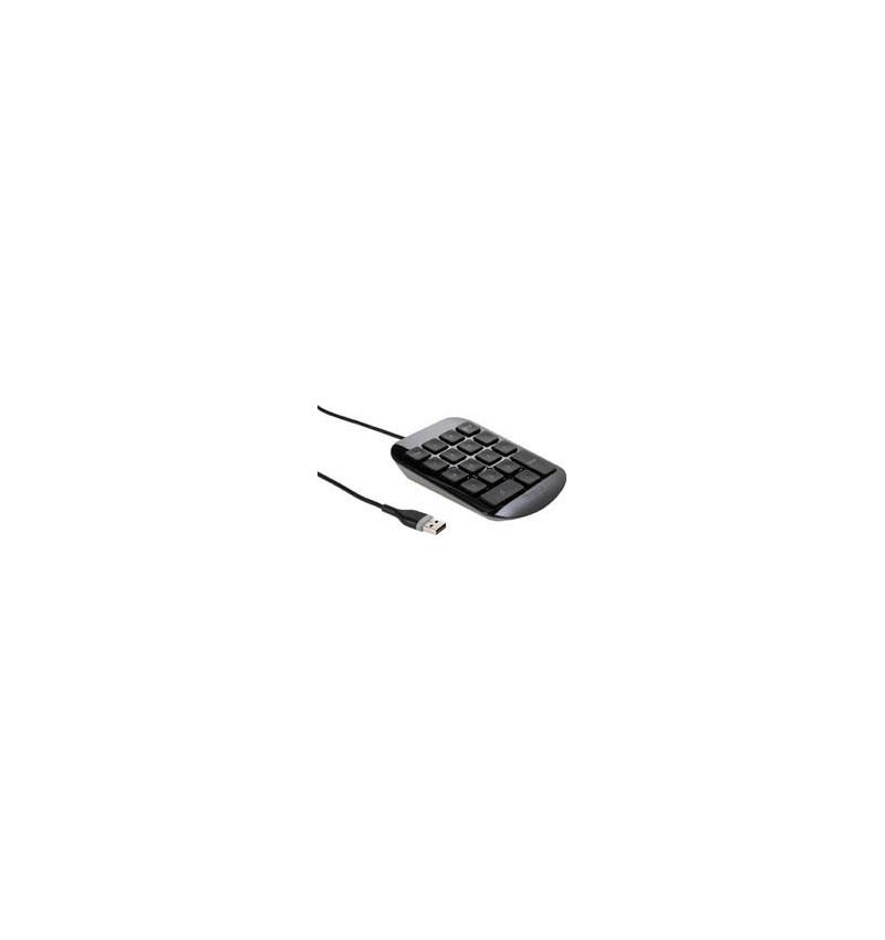 Targus Teclado numérico, USB Port, Cor: Preto e Cinzento