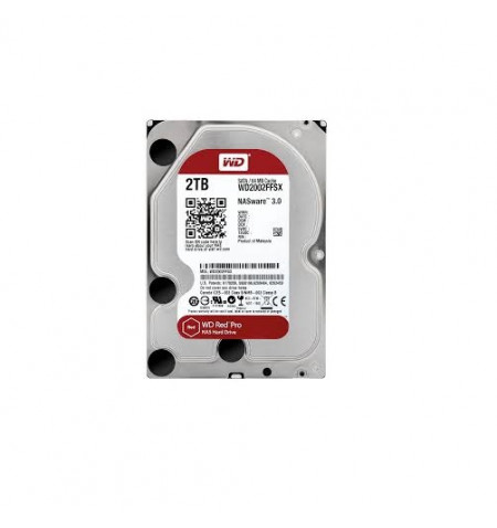 "HDD Western Digital 2TB RED PRO 3.5"" - WD2002FFSX"