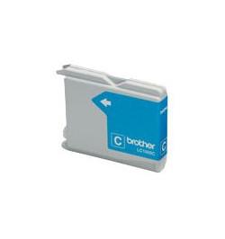 Tinteiro Compatível Brother LC980C / LC1100C Azul
