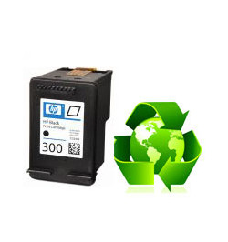 Tinteiro HP Reciclado N 300 XL preto (CC641EE)