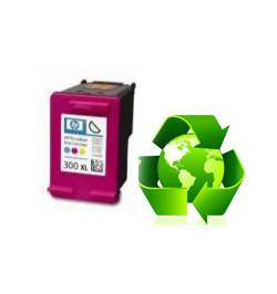 Tinteiro HP Reciclado N 300 XL tricolor (CC644EE)