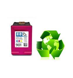 Tinteiro HP Reciclado N 901 XL tricolor (cc656ee)